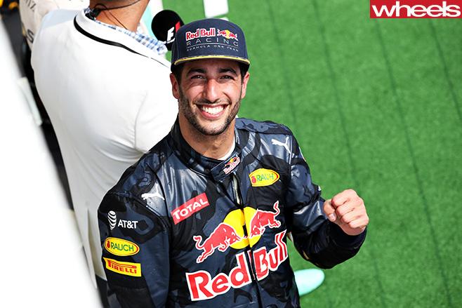 Danile -Ricciardo -Red -Bull -team