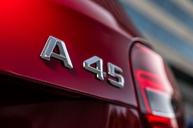 2016 Mercedes AMG A45 Badge