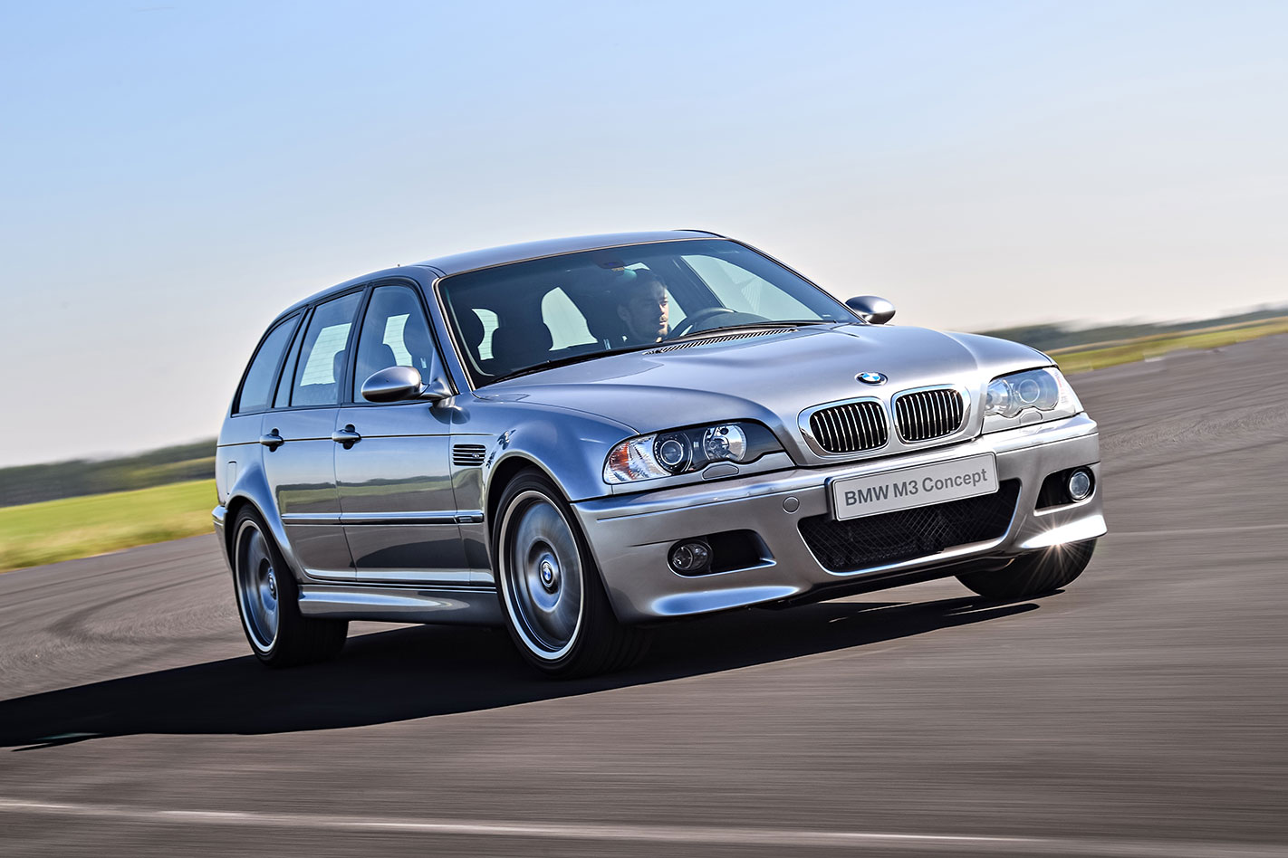 BMW E46 M3 wagon front