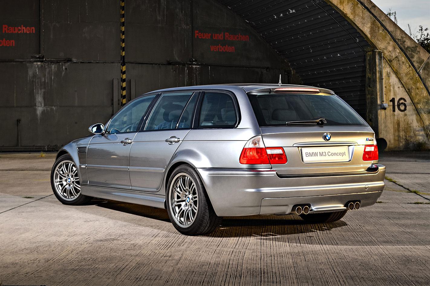 BMW E46 M3 wagon rear