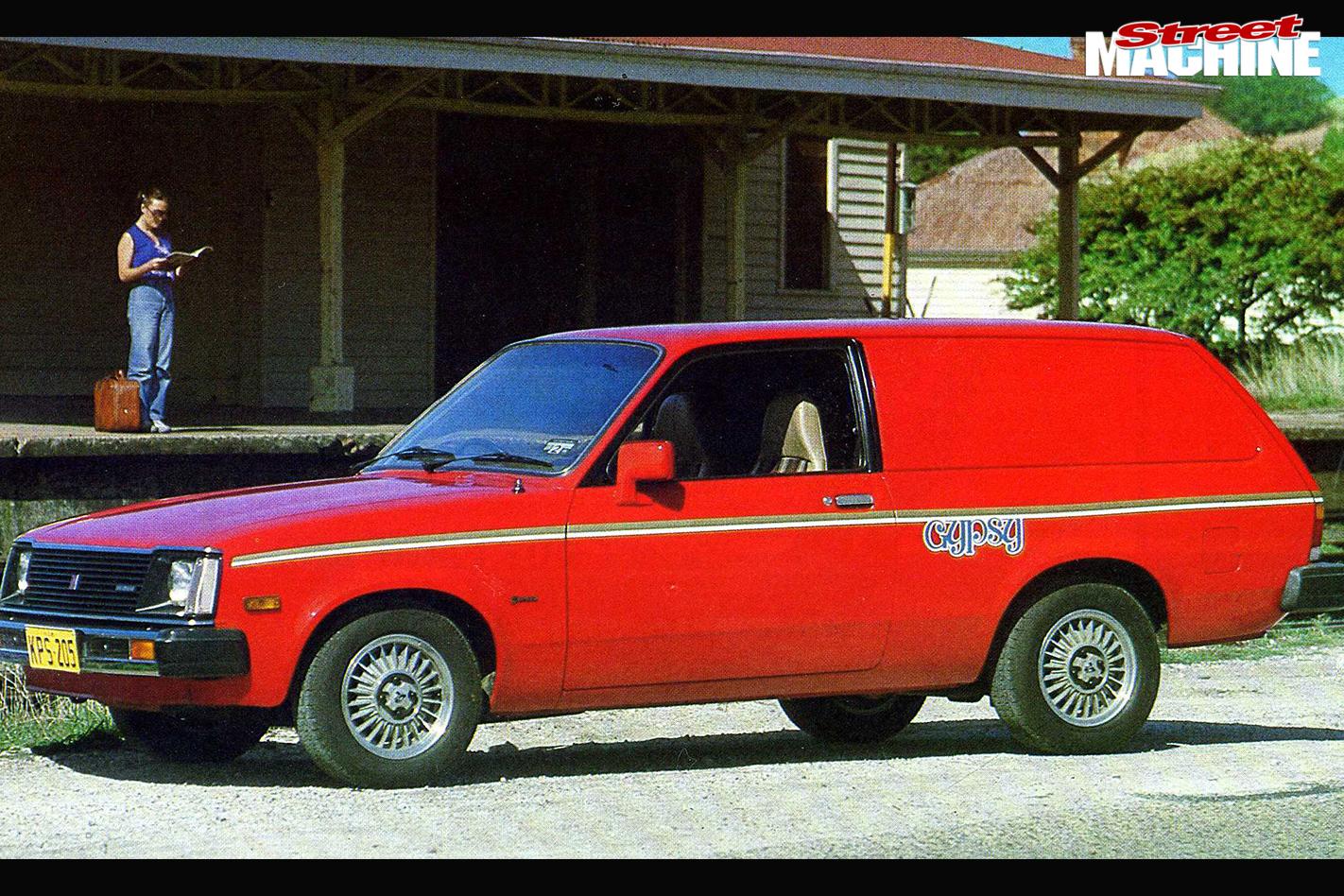 Holden -gemini -gypsy -van