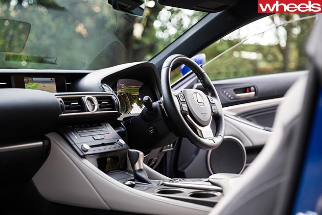 David -Hassall -Lexus -RC200t -interior