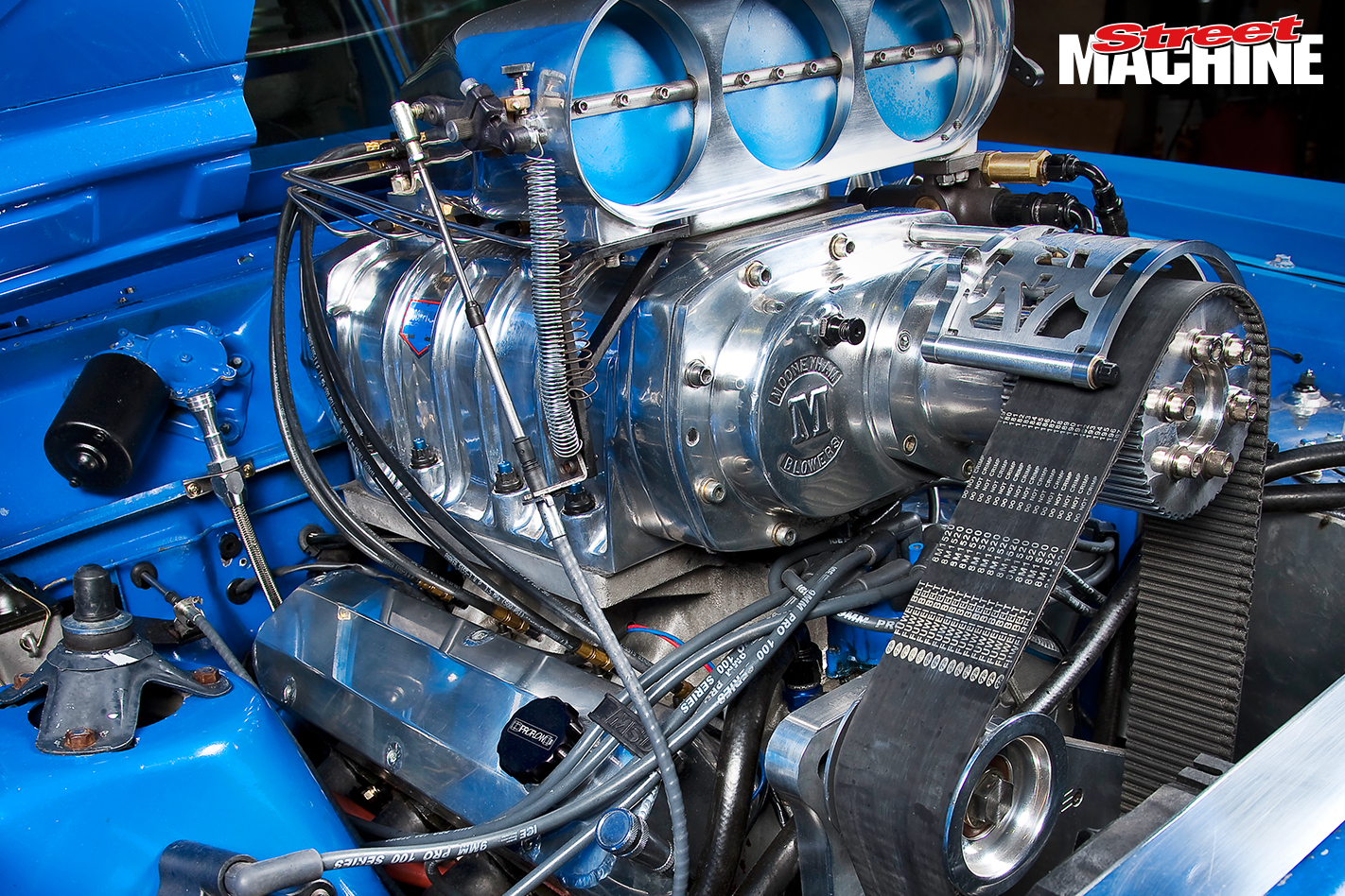 XR Falcon Ute Blown ITHOPS Engine