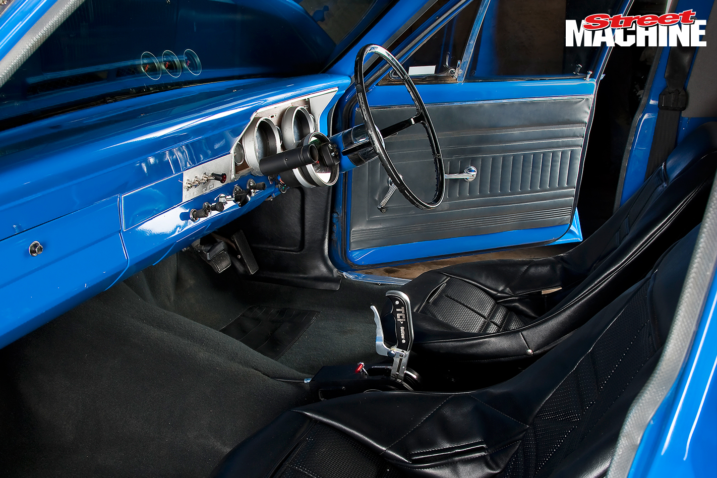 XR Falcon Ute Blown ITHOPS Interior