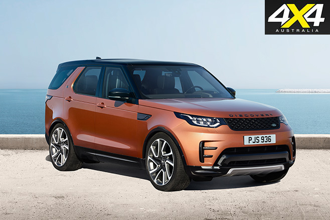 2017 Land Rover Discovery  body