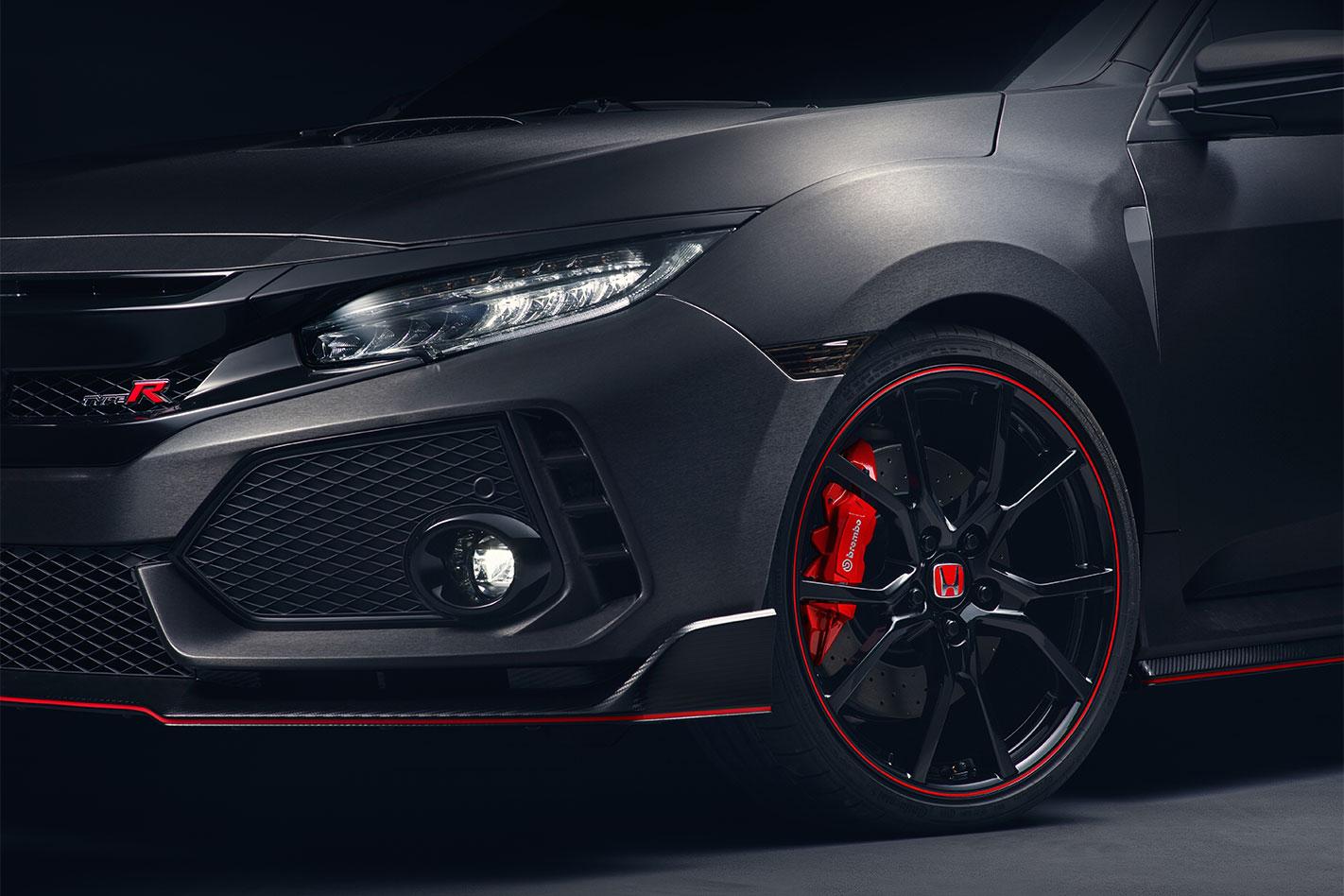 2017 Honda Civic Type R wheel
