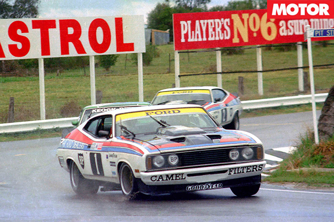 Moffat Ford Dealers Team 1977 XC Hardtop