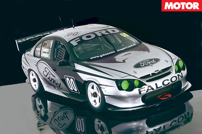 Craig Lowndes 2001'02 AU 'Green -Eyed Monster'