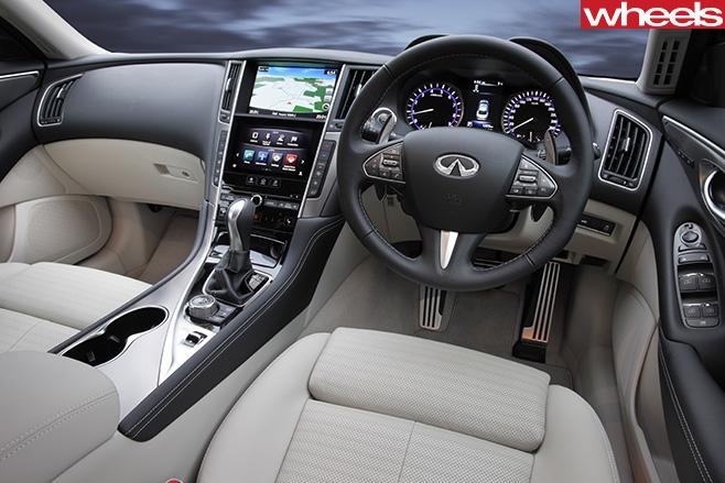 2017-Infiniti -Q50-interior
