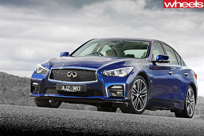 Infiniti -Q50-front -side