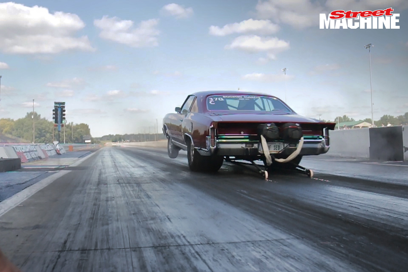 Chevy Monte Carlo Drag Week Mike Roy