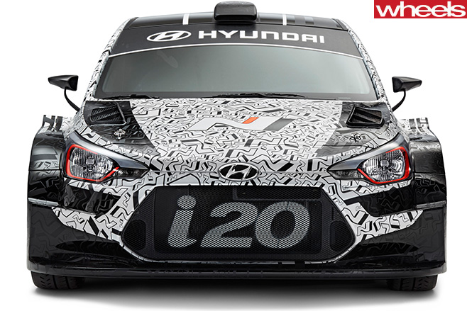 2016 Paris Motor Show 2017 Hyundai I20 Wrc Car Revealed