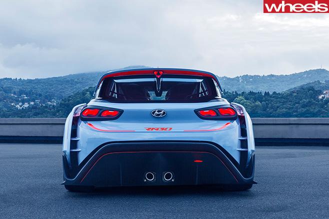 Hyundai -Rn 20-concept -rear