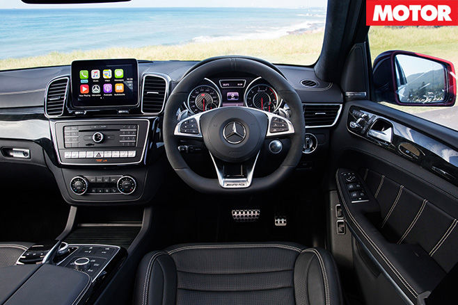 Mercedes-AMG GLS63 interior