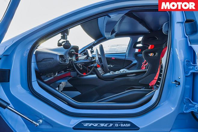 2016 Paris Motor Show Hyundai RN30 Concept interior