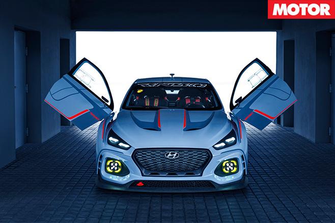 2016 Paris Motor Show Hyundai RN30 Concept doors