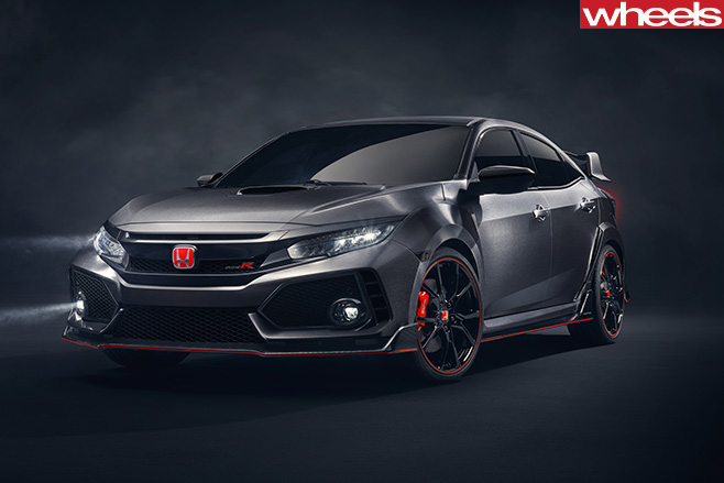 Honda -Civic -Type -R-side -front