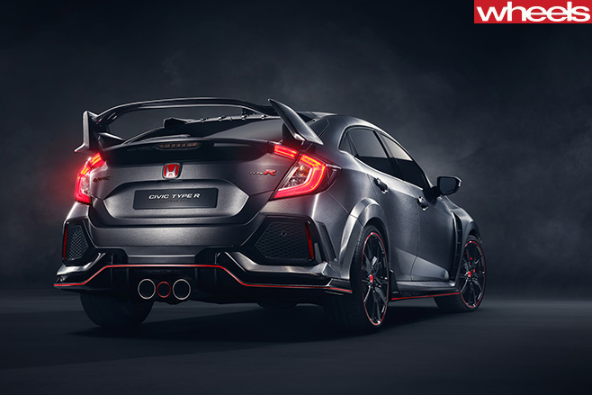 Honda -Civic -Type -R-rear -side