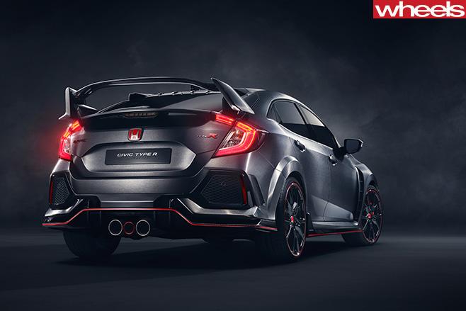 Honda -Civic -Type -R-rear -side