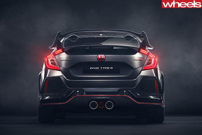 Honda -Civic -Type -R-rear
