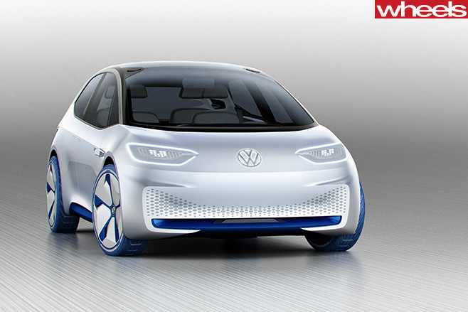 Volkswagon -ID-concept -front