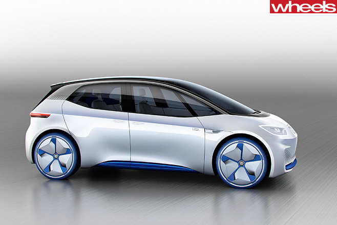Volkswagon -ID-concept -front -side
