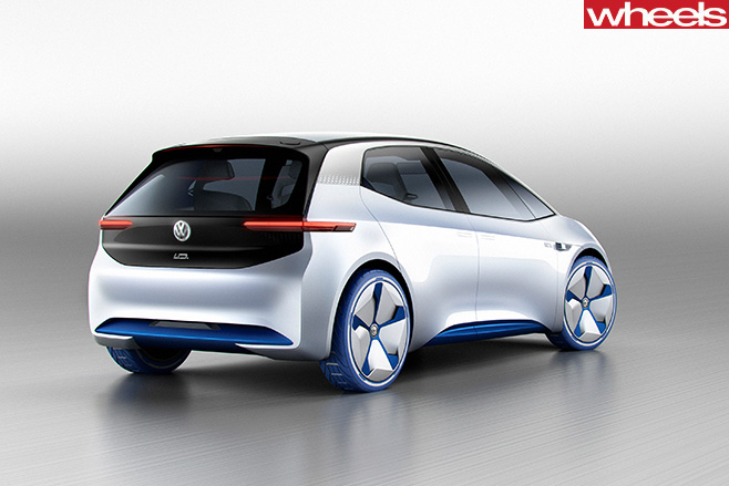 Volkswagon -ID-concept -rear