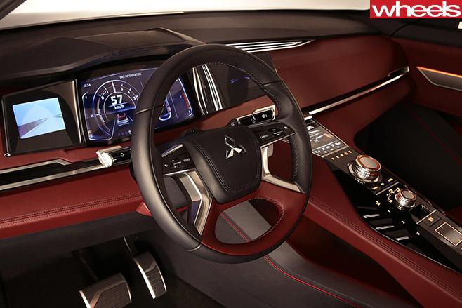 Mitsubishi -GT-PHEV-interior