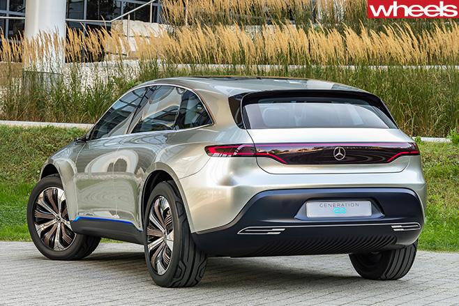 Mercedes -Benz -EQ-concept -SUV-rear