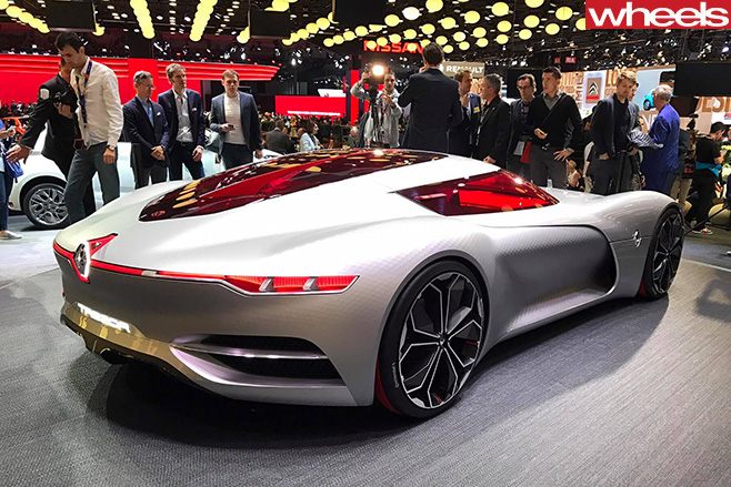Renault -Trezor -concept -rear -Paris -Motor -show