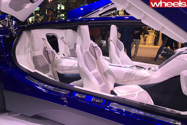 GLM-400kw -Japanese -supercar -seats