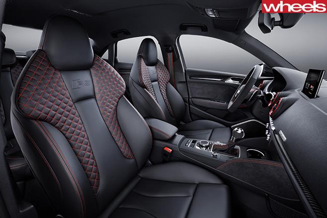 Audi -RS3-sedan -interior