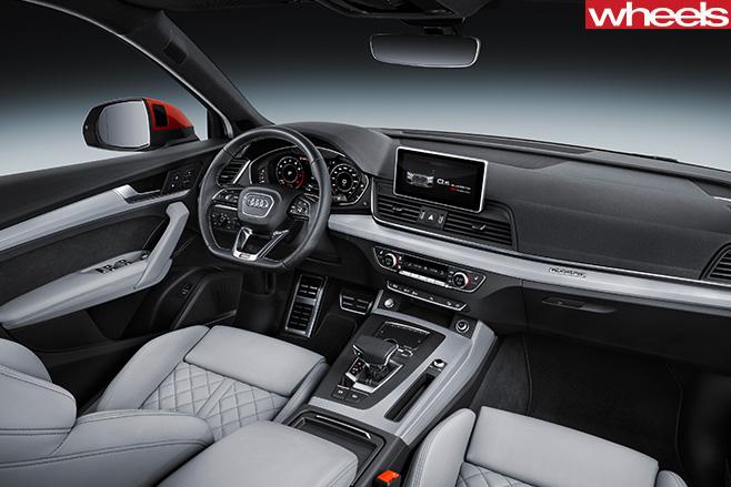 Audi -Q5-interior
