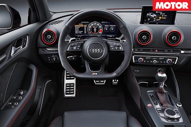 Audi rs3 sedan interior