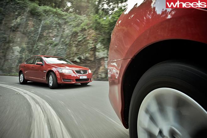 2012-Australian -sedans -Holden -VE-Commodore