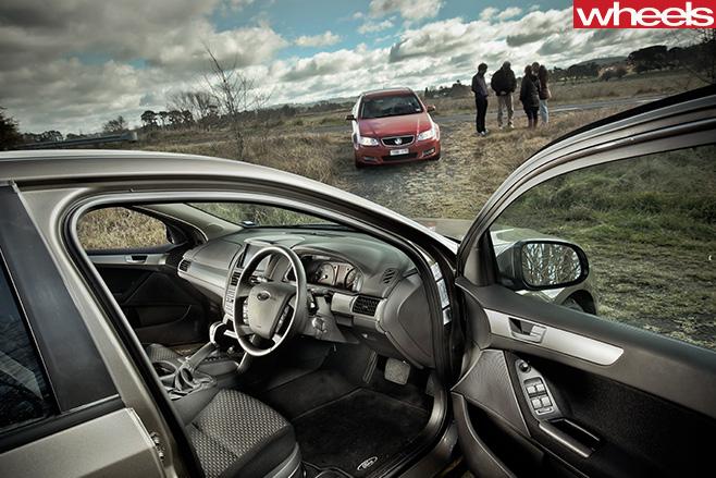 2012-Ford -Falcon -Australian -car