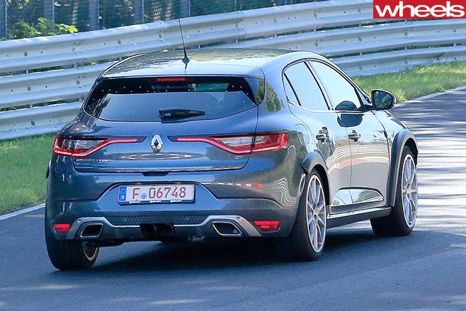 2016-Renault -Megane -rear -side