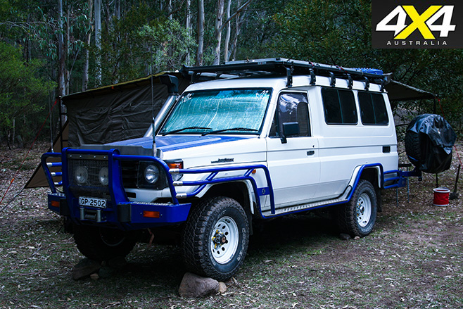 Blue bar Troopcarrier