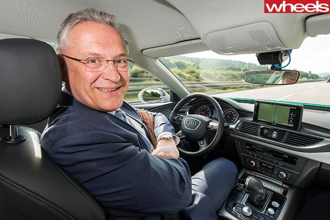 Driverless -Audi -car