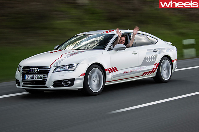 Driverless -Audi -A8