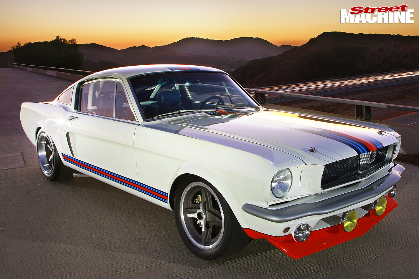 Ford Indy V8 Powered 1966 Mustang Built To Shelby R Model Spec