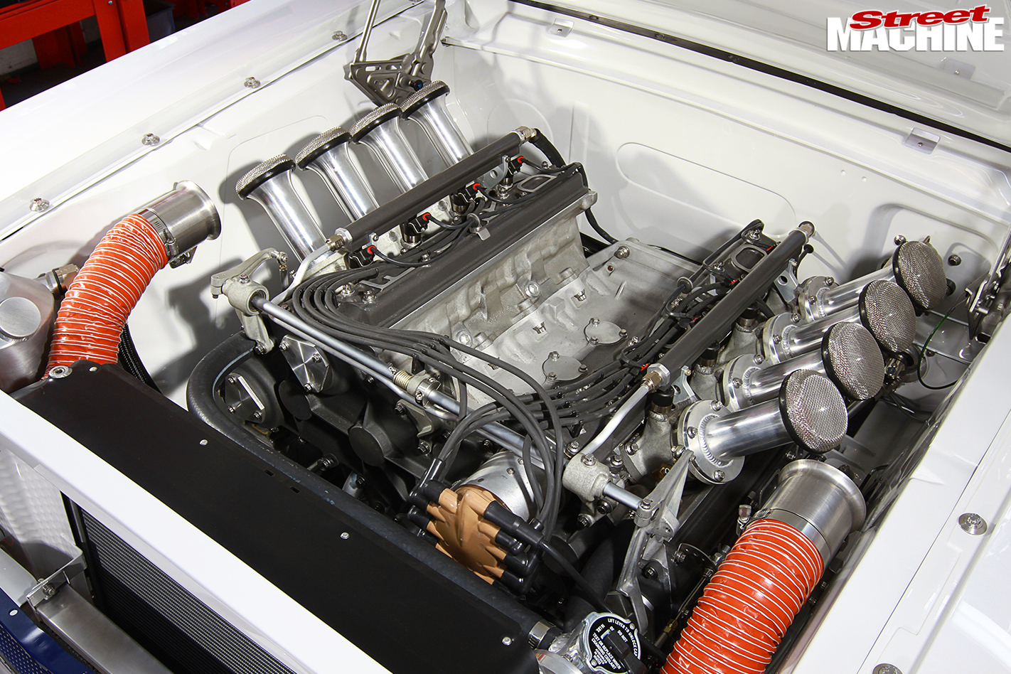 Mustang -engine -bay