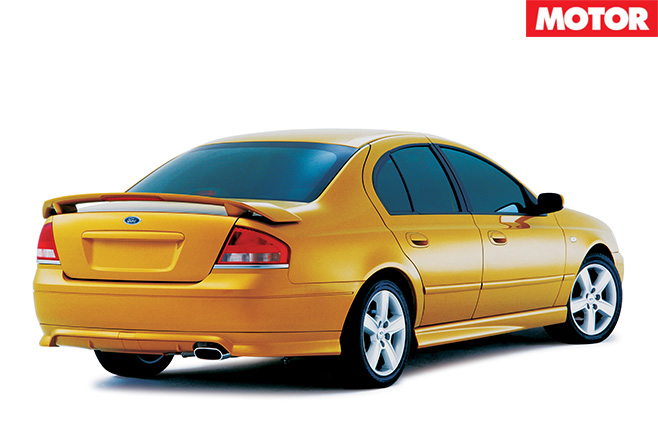 Ford AU Falcon XR8 rear