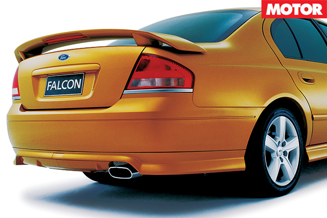 Archive AU Falcon XR8 exhaust