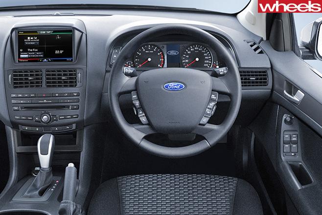 2015-Ford -FG-Falcon -interior