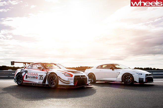 Nismo -GT-R-performance -model -with -road -model