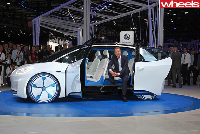 VW-Id -concept -car -paris -motor -show-