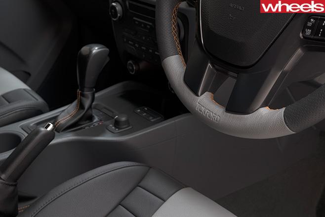 ford ranger interior