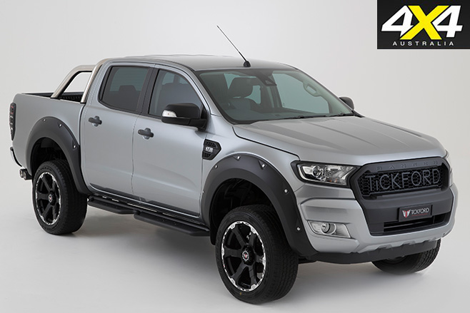 Tickford Ford Ranger front