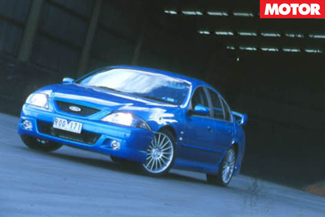 Tickford car